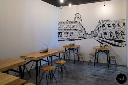 Back seating area:  Gastronomy by Y&T Pte Ltd