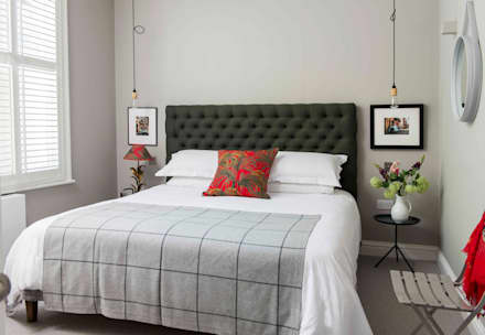 Whitehall Park Residential: modern Bedroom by Samantha Watkins McRae Interiors & Styling