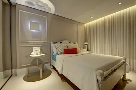 ห้องนอน by Dome arquitetura