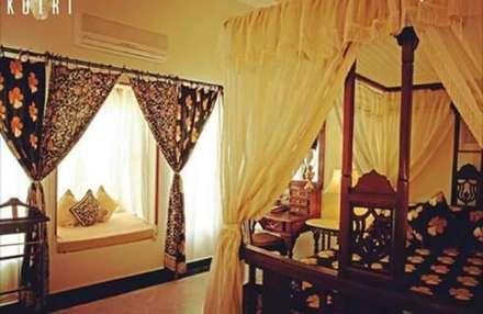 rustikale Schlafzimmer von Devyani Kumari Lifestyle & Designs