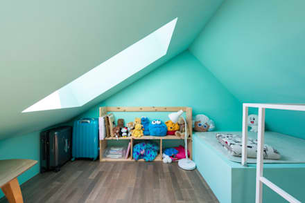 modern Nursery/kid's room by Design Guild