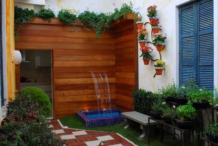 حديقة تنفيذ Adriana Baccari Projetos de Interiores