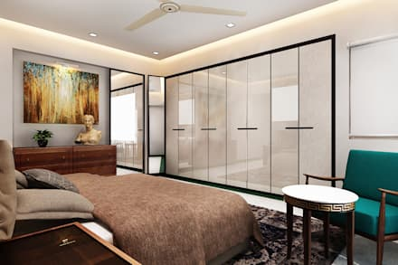 Master Bedroom: Classic Bedroom By Neelanjan Gupto Design Co