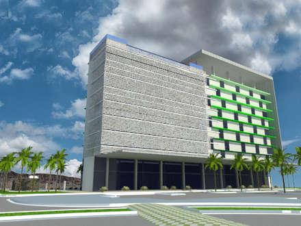 Hotel en Margarita: Hoteles de estilo  por Arq. Gustavo García
