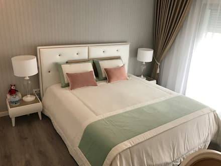 Home sweet apartment: Quartos minimalistas por TCelements