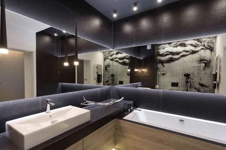 Baños de estilo moderno por Luxon Modern Design Łukasz Szadujko