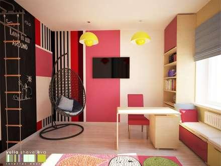 eclectic Nursery/kid's room by Мастерская интерьера Юлии Шевелевой