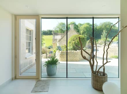 Court Farm:  Windows  by Austin Design Works