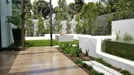 HOUSE 2: minimalistic Garden by Greenacres Cape landscaping