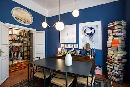 colonial Dining room by studioQ