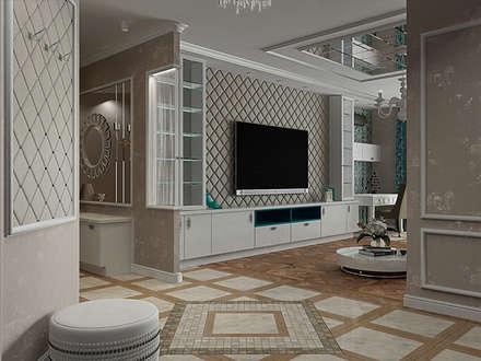Трехкомнатная квартира в стиле ар деко: Коридор и прихожая в . Автор – EEDS design