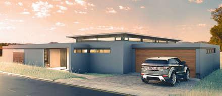 moderne Häuser von REIS