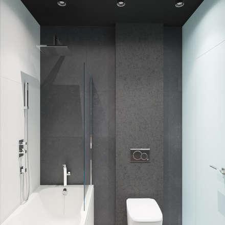 Преображение: Ванные комнаты в . Автор – ДОМ СОЛНЦА