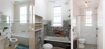 Bathroom Renovation: classic Bathroom by Trait Decor
