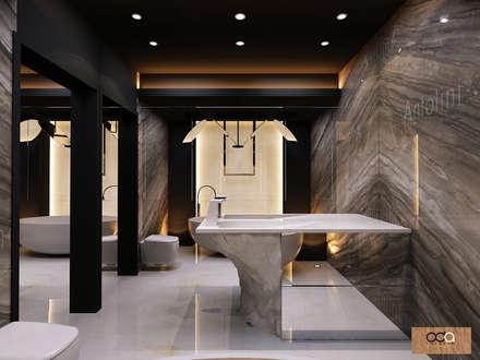 Oda Tasarım İçmimarlık – KONUT PROJESİ: modern tarz Banyo