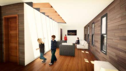 Estar de Ocio : Dormitorios infantiles de estilo moderno por GerSS Arquitectos