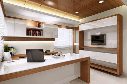 modern Study/office by Mah-Dee group