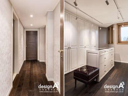 고급스런 클래식의 향연: Design A3의  드레스 룸