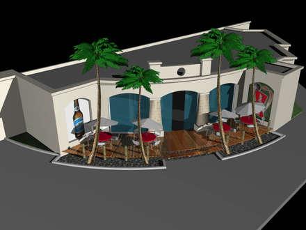 Bar Temático Deportivo: Bares y Clubs de estilo  por Valy
