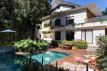 Casa Gávea: Casas modernas por Espaço Tania Chueke