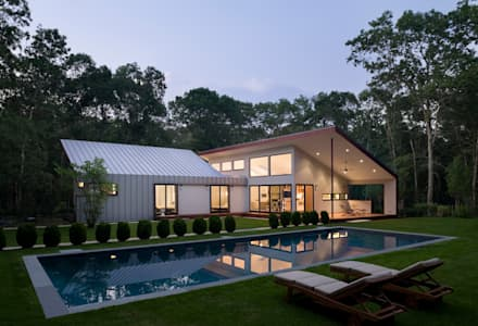 : modern Houses by Eisner Design