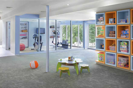 : modern Gym by Eisner Design