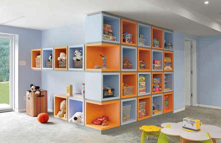 : modern Nursery/kid's room by Eisner Design