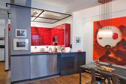 : modern Dining room by Eisner Design