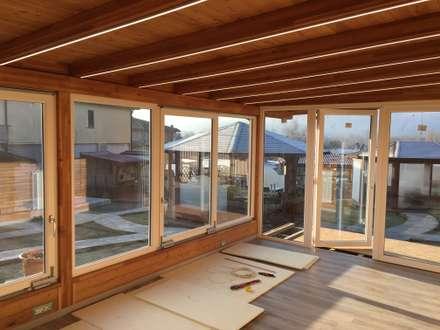 Led, serramenti a taglio termico in PVC e vetro climatico e Pavimento ...