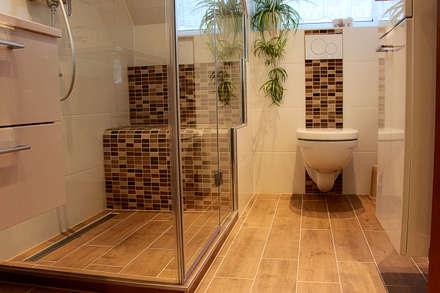 Komplettbadsanierung Dachau: moderne Badezimmer von Cella GmbH