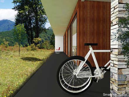 Proyecto inmobiliario Horizonte: Terrazas  de estilo  por Smartlive Studio