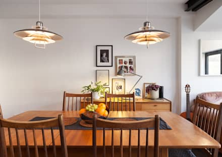 : industrial Dining room by Collective Works