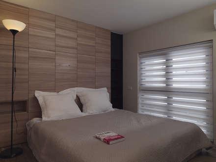 小小的森屋:  臥室 by 賀澤室內設計 HOZO_interior_design