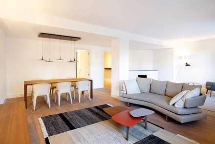 Salón/Comedor: Salones de estilo moderno de 02_BASSO Arquitectos