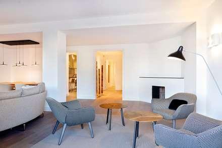 Salón: Salones de estilo moderno de 02_BASSO Arquitectos