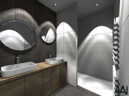 PROJET PBG - SDB: Salle de bain de style de style Moderne par 4ai