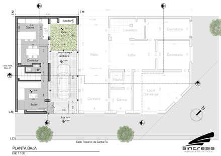 บ้านและที่อยู่อาศัย by síncresis arquitectos