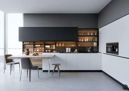 moderne Küche von Cuzinhas LS unipessoal LDA