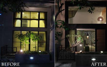 森屋 |before&after|:  窗戶與門 by 賀澤室內設計 HOZO_interior_design