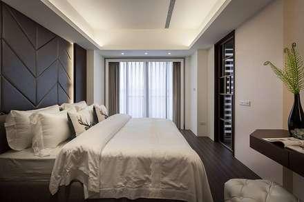 主臥:  臥室 by 你你空間設計