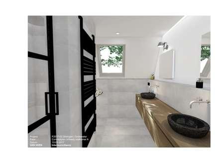 ห้องน้ำ by VAN VEEN Interior Design