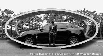Tettoia per Auto | metallica, modulare, personalizzabile: Garage/Rimessa in stile in stile Moderno di RMG Project Studio
