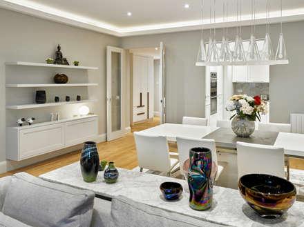Dining Room: modern Dining room by Morph Interior Ltd