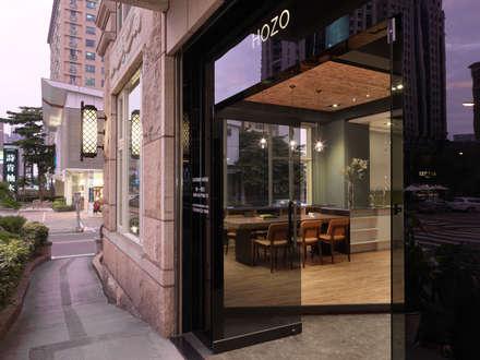 HOZO_interior_design OFFICE:  窗戶與門 by 賀澤室內設計 HOZO_interior_design