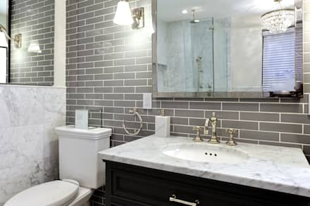 Renovation on 82nd Street: modern Bathroom by KBR Design and Build