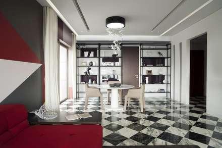 Dining Room: modern Dining room by Sergio Mannino Studio