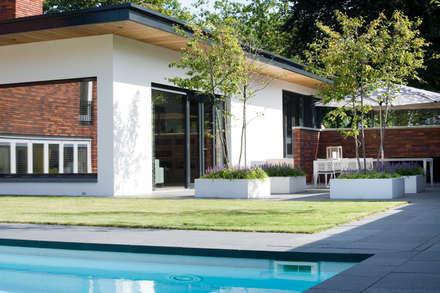 Onderhoudsvrije inrichting.: moderne Tuin door Heart for Gardens.