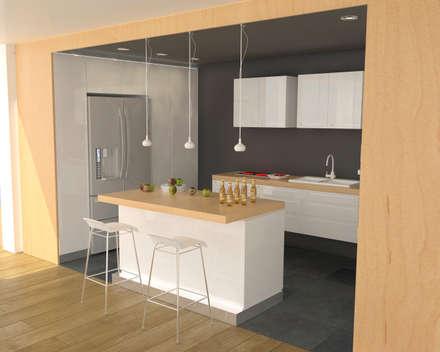 Apartment in Sliven: modern Kitchen by eNArch.info