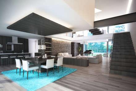 ideen & inspiration für moderne wohnzimmer | homify, Hause ideen