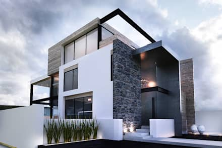 moderne Häuser von TARE arquitectos